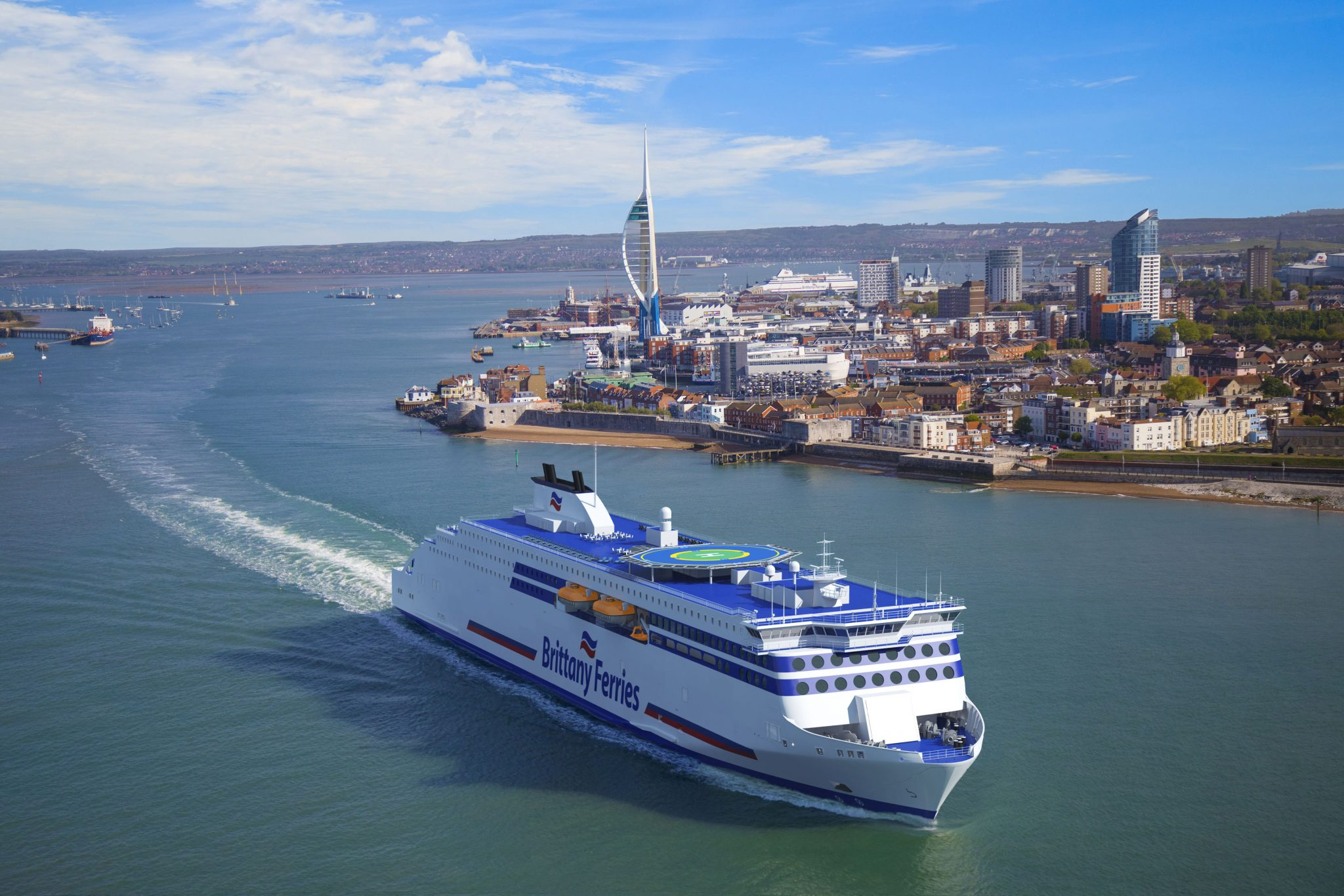 brittany ferries invests in two new cruise ferries for long haul spanish routes discover ferries. Black Bedroom Furniture Sets. Home Design Ideas