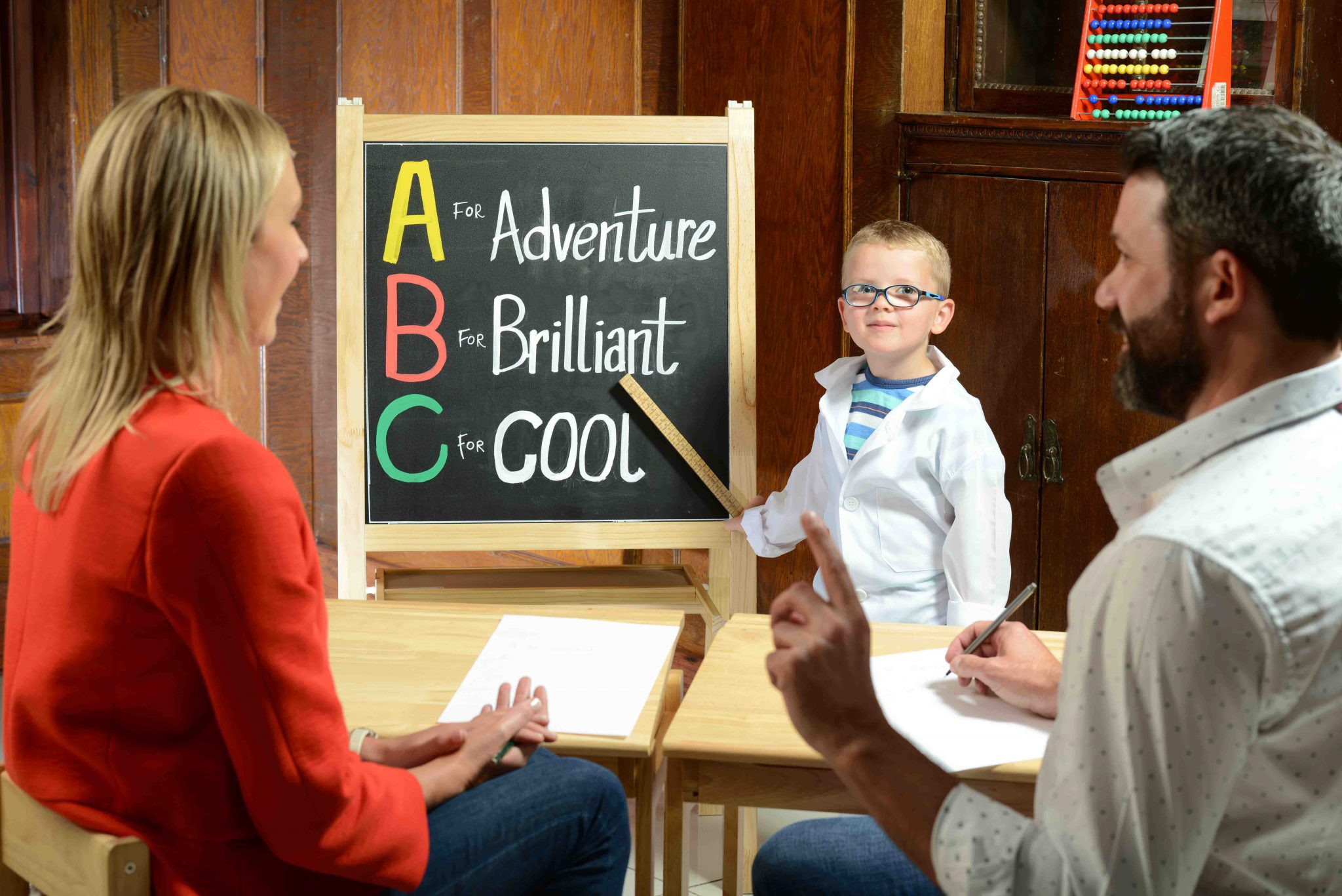"EASY AS A, B, C - Little Ben O'Neill (4) gets ready for his summer adventure by 'educating' his parents on what makes a journey by car fun for kids.  Leading ferry company Stena Line has children's entertainers during the summer, dedicated games rooms and play areas as well as free Wi-Fi, free movies and great eateries to make a ferry trip a dream, but, they are also keen to make travel to their ports as pleasurable as possible.  So they have come up with useful tips and ideas to turn up the holiday fun factor during the car journey including games such as Name That Tune and Eye Eye Captain!   Orla Noonan, Head of Travel, Irish Sea, Stena Line, said: ""Adults, we know you've done your bit to prepare for your holiday with the kids so, if you are travelling by ferry, it's time to let us do ours!  Not only do Kids Go Free all year with Stena Line but there is so much going on onboard that you get a break from being the entertainer.  In fact, there is so much for the kids to do that they won't want to leave!""  The leading ferry company's generous offer means that all kids go free, so get online and get booking now as this incredible deal won't last forever.  Book by clicking on www.stenaline.co.uk/kids"