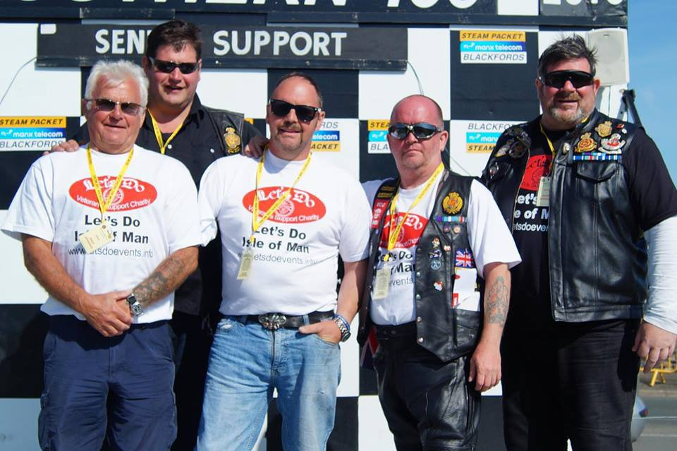 Letsdo Southern 100 visit supported by the Steam Packet Company