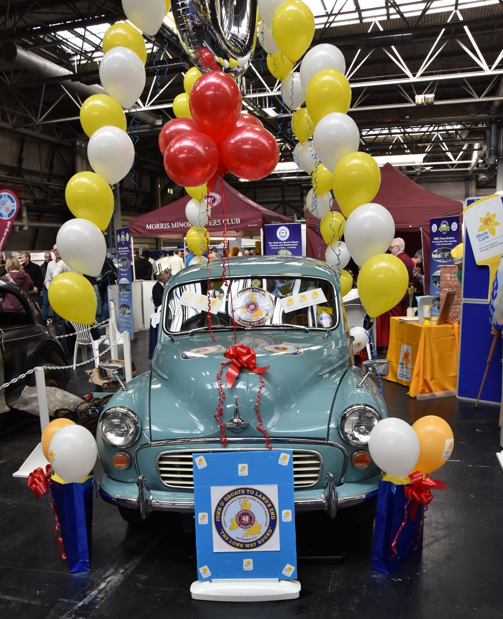 Morris Minor Owners Club charity marathon